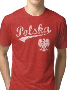 Polska Sport Style  Tri-blend T-Shirt