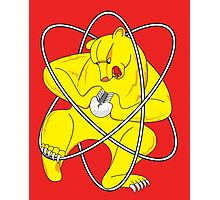 Bear Splitting Atom Photographic Print