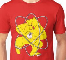 Bear Splitting Atom Unisex T-Shirt