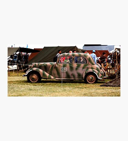 WWII Mercedes Staff Car Photographic Print