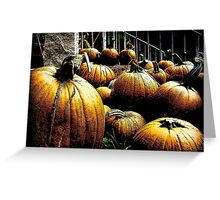 A Sure Sign of Fall Greeting Card