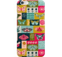 Lepidoptery tiles by Andrea Lauren  iPhone Case/Skin