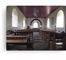 Interior of St. Michael & All Saints. Canvas Print