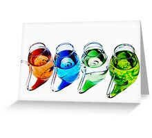 Port Sippers Greeting Card