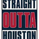 Straight out of Houston - Football by devilshalollc