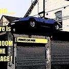 Comic Strip Car     NO ROOM..... by Dawnsuzanne