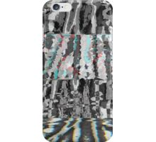 Abstract Glitch Art (2) iPhone Case/Skin