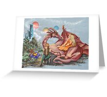 The Guardian Greeting Card
