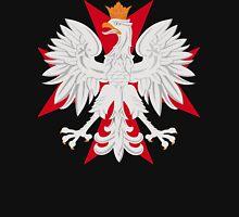 Polish Eagle Maltese Cross Unisex T-Shirt