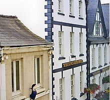 Agincourt Square Buildings - Monmouth by missmoneypenny