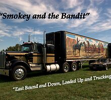 "1973 Kenworth W900A ""Smokey and the Bandit"" by TeeMack"