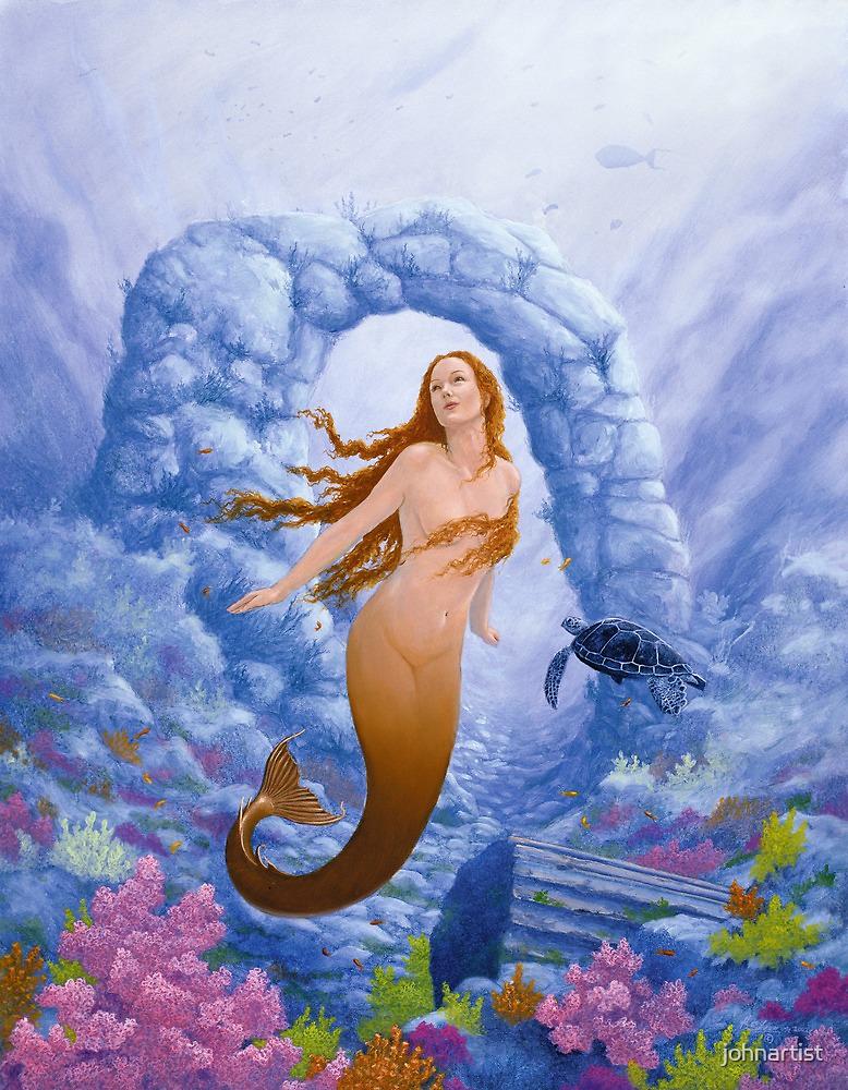 Where Mermaids play by John Silver