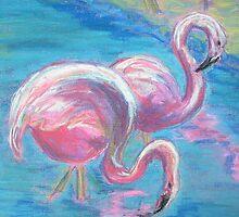 Mingoes (Pastel) by Niki Hilsabeck