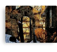 Late winter day Canvas Print