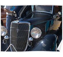 1934 Ford Fordor Poster