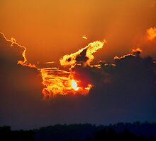 Drama In The Sky by James Brotherton