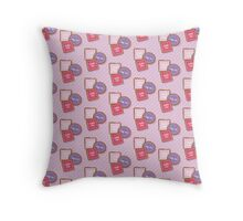 Alice's biscuits Throw Pillow