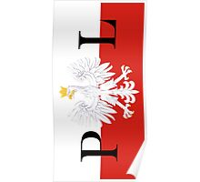 Flag of Poland PL Poster
