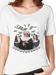 Lindsay Lohan; Paris Hilton; Nicole Richie 'Bless You Bitch' Women's Relaxed Fit T-Shirt