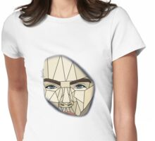 Cara Delevingne- Graphic Art Womens Fitted T-Shirt