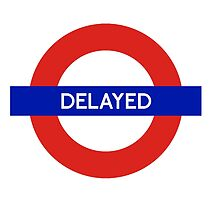 London Undeground - Delayed by CherryCassette