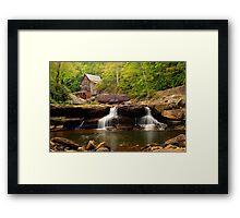 Glade Creek Grist Mill (Cooper's Mill) Framed Print