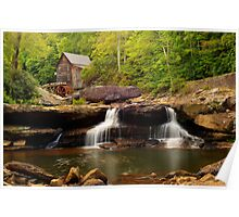 Glade Creek Grist Mill (Cooper's Mill) Poster