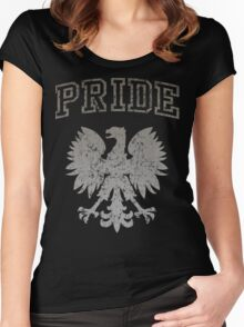 Polish Pride  Women's Fitted Scoop T-Shirt