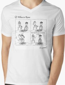 When in Rome Mens V-Neck T-Shirt