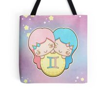 Kawaii Zodiac - Gemini Tote Bag