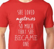 Paper Towns t-shirt – She Loved Mysteries, Margo, John Green Unisex T-Shirt