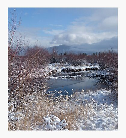 Dawn Mist, Summit County Colorado Photographic Print