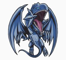 Blue-Eyes White Dragon Icon - Yugioh! Kids Clothes