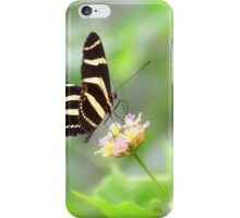 """ Zebra Longwing "" iPhone Case/Skin"