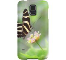 """ Zebra Longwing "" Samsung Galaxy Case/Skin"