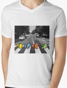 Kanto Starters on Abbey Road (black/white) T-Shirt