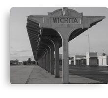 Weatherd & Worn In Wichita Canvas Print