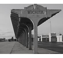 Weatherd & Worn In Wichita Photographic Print