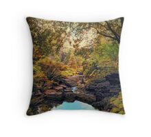 Autumnal Garden   Throw Pillow