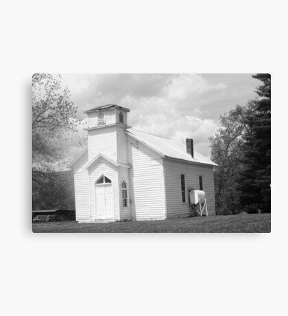 old timey church Canvas Print