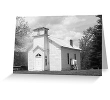 old timey church Greeting Card
