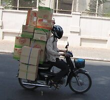 The delivery is on its way! by Pauline Andrews