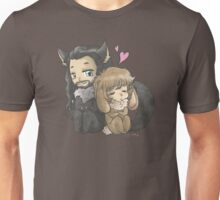The Bunny and The Wolf Unisex T-Shirt