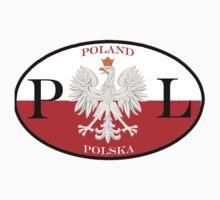 Poland Polska PL Flag by PolishArt