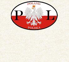 Poland Polska PL Flag Hoodie