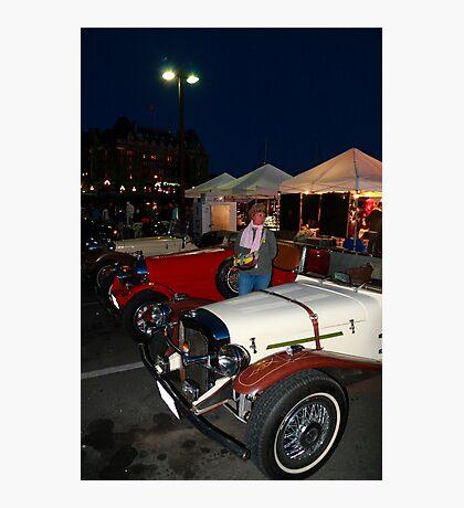 Old automobiles Photographic Print