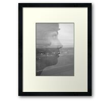 Transported (B&W) Framed Print