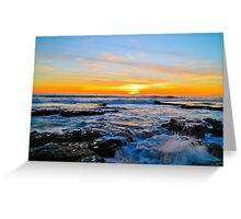 Australia Sunset Greeting Card