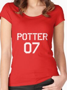 Potter Quidditch team Women's Fitted Scoop T-Shirt