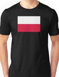 Patriotic Flag of Poland Unisex T-Shirt